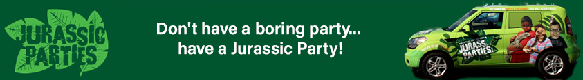 Don't have a boring party.... Have a Jurassic Party!